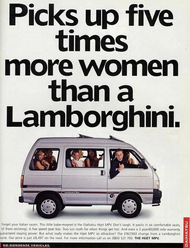Daihatsu Classic Car Ad