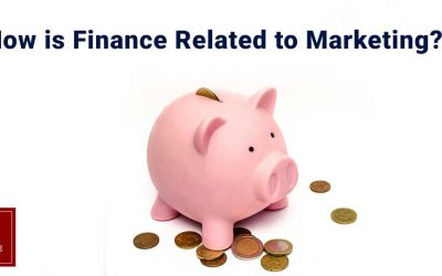 How is Finance related to Marketing?